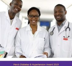 Merck Hypertension & Diabetes Awards 2019 pour les étudiants en médecine.