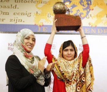 Prix international pour la paix des enfants KidsRights 2021 pour les personnes qui améliorent les droits des enfants.